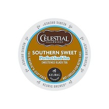 Celestial Seasonings Southern Sweet Perfect Iced Tea, 22 K cups, FREE SH... - $18.69