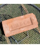 Red Clay Brick Paver Salvaged Vintage Southwest Stamped L.D.&Co. 1930s T... - $94.04