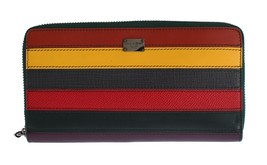 Multicolor Leather Continental Wallet - $445.00