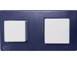 """Creative Memories Square Punch, Two in One! 1.25"""" and 1.5"""" Punches"""