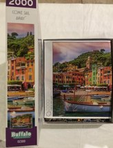 Buffalo Games Jigsaw Puzzle Come Sail Away 2000 Pieces with Poster image 5