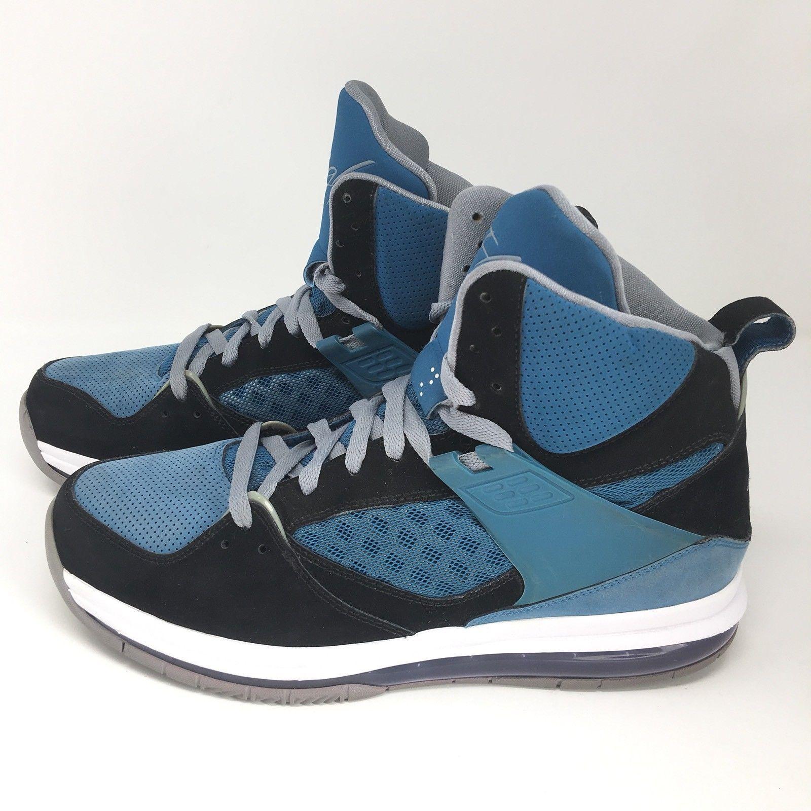 size 40 6417d 89f04 Nike Air Jordan Flight 45 Hi Max Dwayne Wade Basketball Shoes 524866-007 Size  9