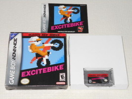 Nintendo  GAME BOY ADVANCE  EXCITEBIKE TV game with box & Instruction Us... - $639.98