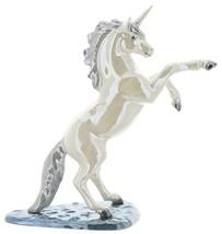 Hagen-Renaker Specialties Large Ceramic Figurine Unicorn Rearing on Base image 4