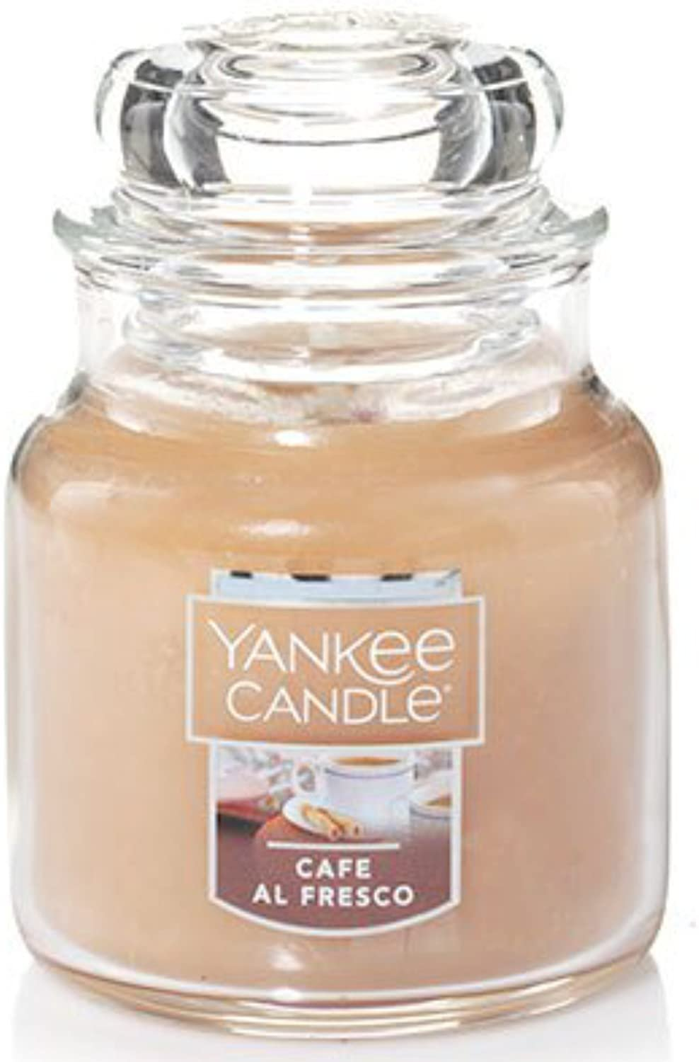 Primary image for Yankee Candle Cafe Al Fresco Small Jar Candle 3.7 oz