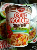 Nissin Cup Noodles, Soup'D Up Zesty Chicken Flavor (2.5 oz., 24 ct.) - $31.92