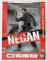 Negan Merciless Edition Action Figure The Walking Dead 10in McFarlane To... - $36.14