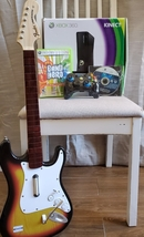 Copy Of XBOX360, Bass Guitar, Controller, And Games - $90.00