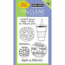 Hero Arts Have a Donut Stamp Set - $13.45