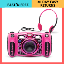 Camera Vtech Duo Kidizoom Selfie Digital 5 0 Deluxe Mp3 Player Pink Excl... - $92.81