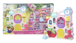 "Disney Princess Little Kingdom Play 'n Carry Castle with Cinderella 3"" D... - $19.88"