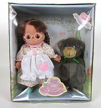 1998 PRECIOUS MOMENTS #11000 - My Beary Best Friend Laura Doll & Bear w/... - $13.49