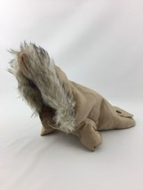 American Dog Outfitters Winter Jacket Coat Size XS Extra Small Beige Bac... - $24.49