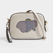 Coach Disney DISNEY X COACH DUMBO CAMERA BAG IN CHALK CALFSKIN Auth - $399.00