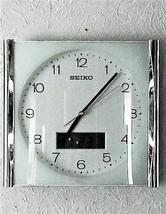 Vintage SEIKO Analog Time Wall Clock w/ Digital Day & Date - $65.00