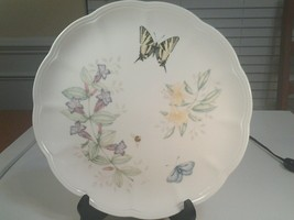 """Lenox Butterfly Meadow Swallowtail Dinner Plate 10.75"""" Diameter New With Tags - $9.99"""