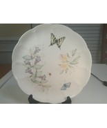 """Lenox Butterfly Meadow Swallowtail Dinner Plate 10.75"""" Diameter New With... - $9.99"""