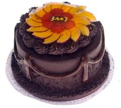 DOLLHOUSE MINIATURE 1 PC CAKE #WA3618 - $7.91