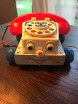 Vintage 1961 Fisher Price Chatter Telephone Pull Toy ❤️ - $19.79