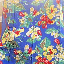 """Ralph Lauren Polo French Provincial Scarf 36"""" square Floral Lillies - $26.70"""