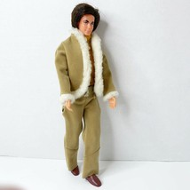 Vintage Mod Hair Ken Barbie Best Buy 8617 Suede Sherpa Jacket Pants Shoe... - $43.36