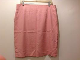Jones New York Lined Pink Skirt Sz 16