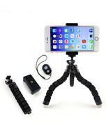 Flexible Mini Tripod Flexible Mount Holder Bluetooth Remote Shutter Phon... - $24.06 CAD