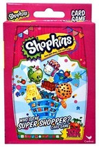 Shopkins, Who's the Shopper Card Game New - $10.99