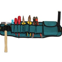 Thicken Multi Electic Tool Belts Bag Waterproof Pockets Electrician Wais... - £10.02 GBP