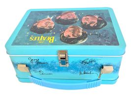 The Beatles Signatures Metal Lunch Box with Thermos New Lunchbox Limited Edition image 7