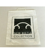 Dealer promo plastic shopping bag black and white graphic New beetle co... - $19.75