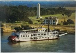 Creole Queen Paddlewheeler Postcard 1980's Photo Print New Orleans Louis... - $4.49