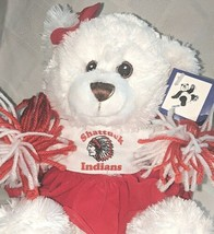 Steven Smith Stuffed Animals INC PA7563RC Shattuck Indians Cheerleader Bear image 2