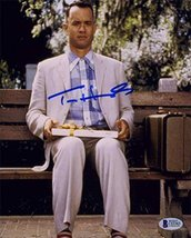 Tom Hanks Forrest Gump Signed 8x10 Photo Certified Authentic Beckett BAS COA - $296.99
