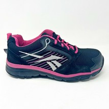 Reebok Work Anomar Black Pink Womens Composite Toe Shoes RB454 - $39.95