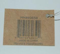 Hannas Handiworks 60650 American Flag 4 Ornament Set 2 Hearts 1 Ball Star image 5