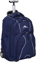 High Sierra Freewheel Wheeled Laptop Backpack, True Navy - $110.88 CAD