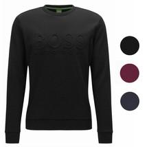 Hugo Boss Boss Green Men's Salbo Slim Fit Crew Neck Sweater Sweatshirt 50333928