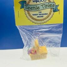 Enesco Teenie Tinies Treasure SEALED miniature figurine ornament picnic basket - $14.50