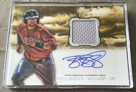 2013 Bowman Inception Bryce Brentz #Ar-bb Autographed Baseball Card - $0.99