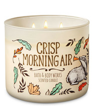 Bath & Body Works Crisp Morning Air Three Wick 14.5 Ounces Scented Candle - $22.49