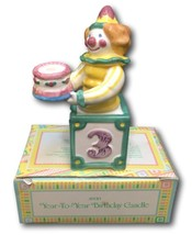 Avon Year To Year Birthday Cake Topper Candle Holder Clown Ages 1 2 3 & ... - $8.90