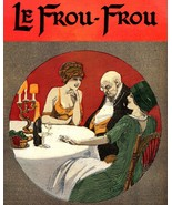 Le Frou Frou: Three At Table - 1911 - Abielle 1905 - $12.82+