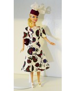 "11.5"" Fashion Doll-Size Clothes New 1940s Design Easter Dress and Hat - $19.99"