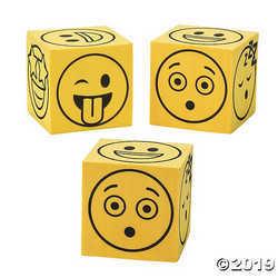 Fun Express Emoji Dice