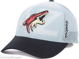 Reebok NX28Z NHL Team Logo Draft Meshback Hockey Cap Hat - €19,32 EUR