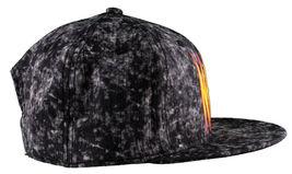 Neff Headwear Black Leopard Neff Rock Logo Snapback Baseball Hat Cap F13018 NWT image 3