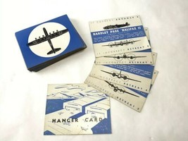Vintage SPOT A PLANE WWII Board Game Silhouette Cards Replacement Deck 4... - $14.84