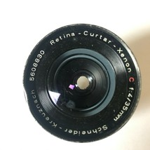 Retina Curtar Xenon Lens Wide Angle Schneider Kreuznach f:4 35mm Vintage... - $38.52