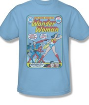 Wonder Woman T-shirt Justice League Super Heroine DC Comic Graphic Tee JLA212 image 2